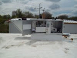 Maintenance work on HVAC unit